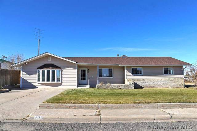 406 Beech Ave, Pine Bluffs, WY 82082 (MLS #76920) :: RE/MAX Capitol Properties