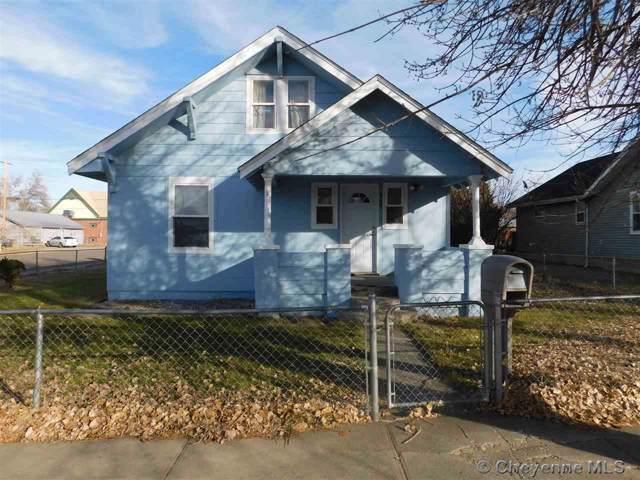 908 13TH ST, Wheatland, WY 82201 (MLS #76933) :: RE/MAX Capitol Properties