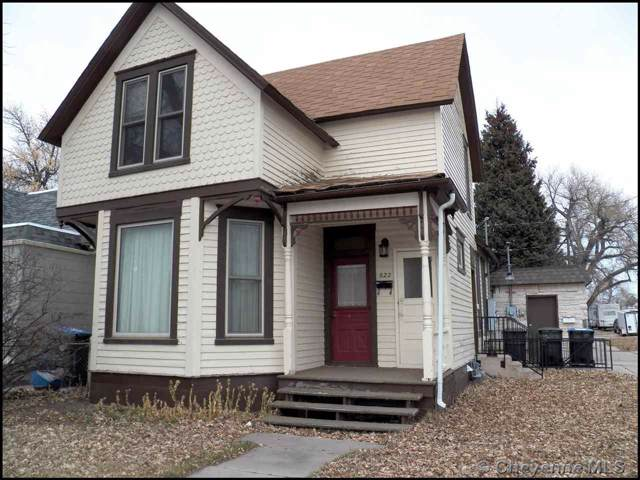 622 E 17TH ST, Cheyenne, WY 82001 (MLS #77018) :: RE/MAX Capitol Properties