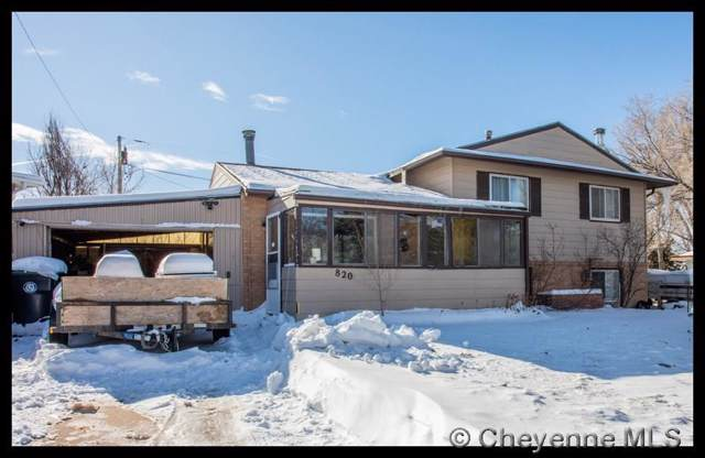 820 Cleveland Ave, Cheyenne, WY 82007 (MLS #77023) :: RE/MAX Capitol Properties