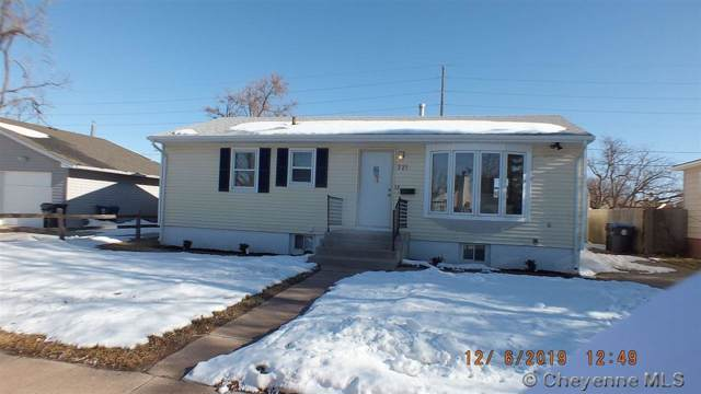 221 Mcfarland Ave, Cheyenne, WY 82007 (MLS #77055) :: RE/MAX Capitol Properties