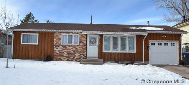 1018 Taft Ave, Cheyenne, WY 82001 (MLS #77064) :: RE/MAX Capitol Properties