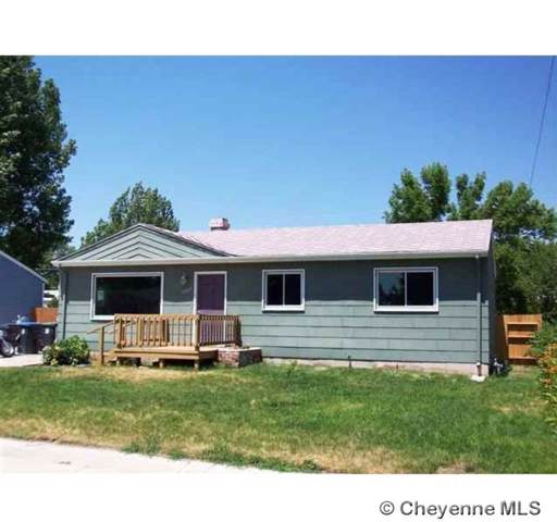 4004 E 7TH ST, Cheyenne, WY 82001 (MLS #77313) :: RE/MAX Capitol Properties