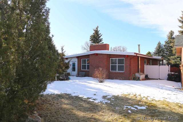 5312 Hilltop Ave, Cheyenne, WY 82009 (MLS #77329) :: RE/MAX Capitol Properties