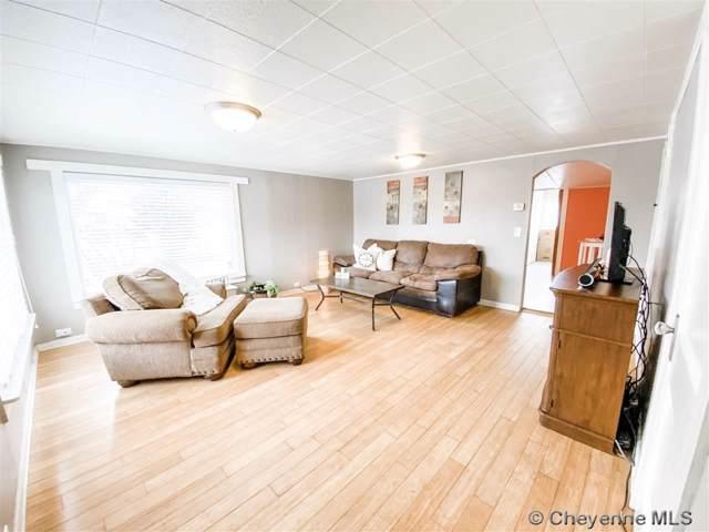 721 W 9TH ST, Cheyenne, WY 82007 (MLS #77343) :: RE/MAX Capitol Properties
