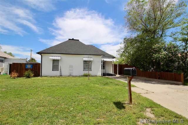 1204 12TH ST, Wheatland, WY 82201 (MLS #77378) :: RE/MAX Capitol Properties