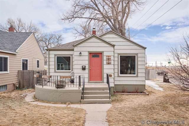 1423 W 31ST ST, Cheyenne, WY 82001 (MLS #77383) :: RE/MAX Capitol Properties