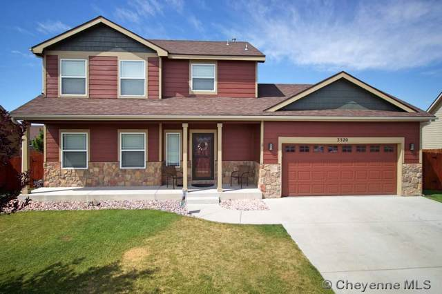 3520 Fire Side Dr, Cheyenne, WY 82001 (MLS #77386) :: RE/MAX Capitol Properties