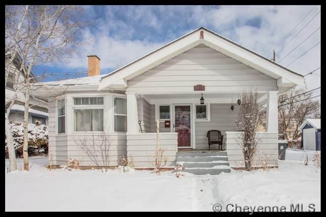 2615 Warren Ave, Cheyenne, WY 82001 (MLS #77659) :: RE/MAX Capitol Properties