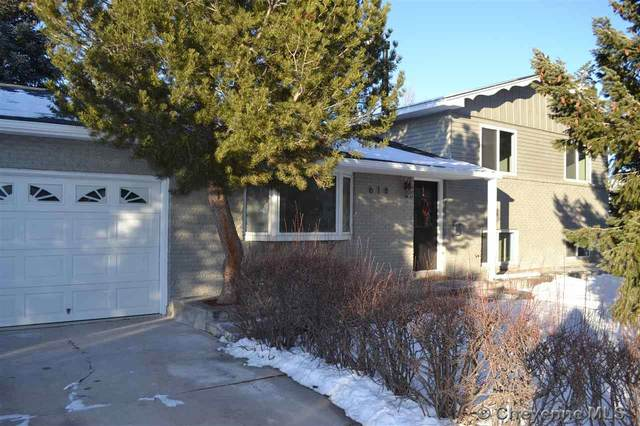 618 Golden Hill St, Cheyenne, WY 82009 (MLS #77682) :: RE/MAX Capitol Properties