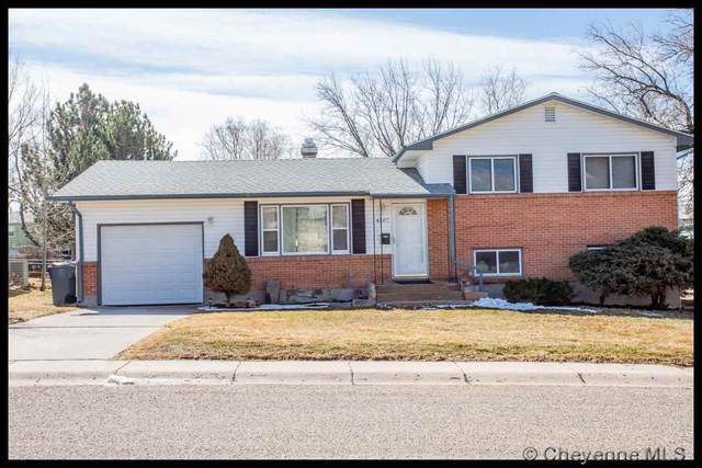 4507 E 10TH ST, Cheyenne, WY 82001 (MLS #77952) :: RE/MAX Capitol Properties