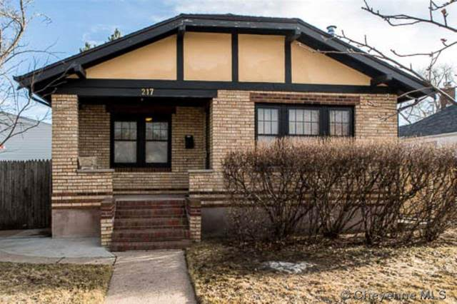 217 E 2ND AVE, Cheyenne, WY 82001 (MLS #78105) :: RE/MAX Capitol Properties