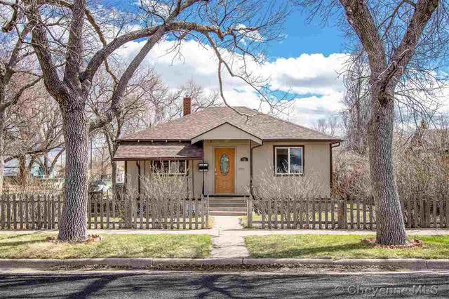 721 E 7TH ST, Cheyenne, WY 82007 (MLS #78119) :: RE/MAX Capitol Properties