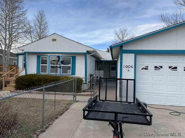 1006 E Prosser Rd, Cheyenne, WY 82007 (MLS #78196) :: RE/MAX Capitol Properties