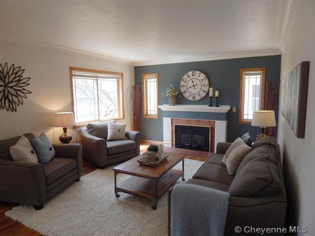 112 W 4TH AVE, Cheyenne, WY 82001 (MLS #78512) :: RE/MAX Capitol Properties