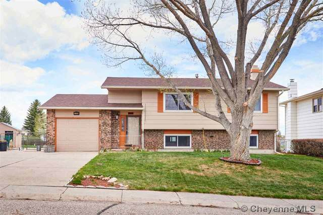 1006 Cottonwood Dr, Cheyenne, WY 82001 (MLS #78574) :: RE/MAX Capitol Properties