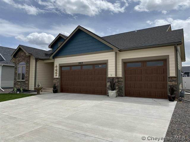 3815 Sahler St, Cheyenne, WY 82009 (MLS #78652) :: RE/MAX Capitol Properties