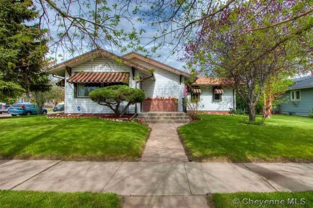 3621 Warren Ave, Cheyenne, WY 82001 (MLS #78656) :: RE/MAX Capitol Properties
