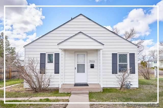 2533 10TH ST, Cheyenne, WY 82001 (MLS #78730) :: RE/MAX Capitol Properties