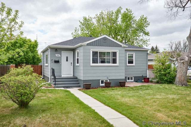 1606 Crook Ave, Cheyenne, WY 82001 (MLS #78745) :: RE/MAX Capitol Properties