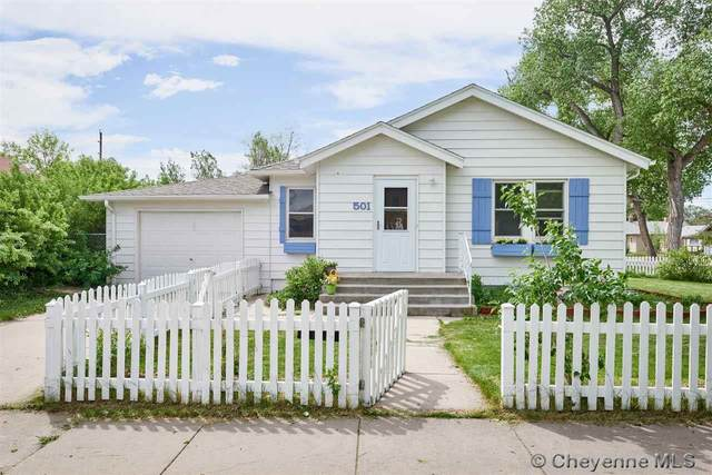 501 E 27TH ST, Cheyenne, WY 82001 (MLS #78832) :: RE/MAX Capitol Properties