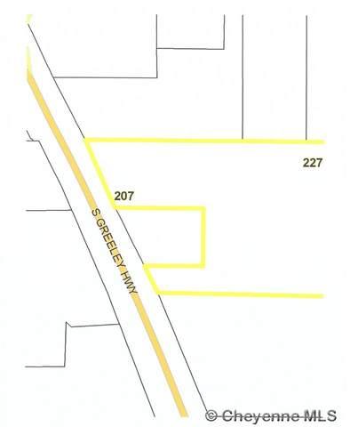 227 S Greeley Hwy, Cheyenne, WY 82007 (MLS #79103) :: RE/MAX Capitol Properties