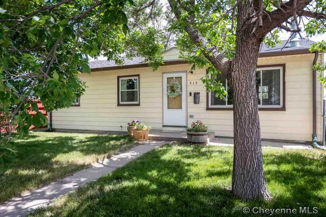 317 Mcfarland Ave, Cheyenne, WY 82007 (MLS #79545) :: RE/MAX Capitol Properties