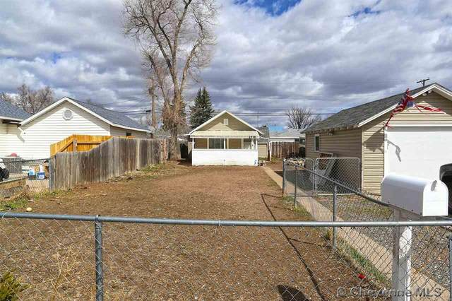 2534 E 12TH ST, Cheyenne, WY 82001 (MLS #79562) :: RE/MAX Capitol Properties