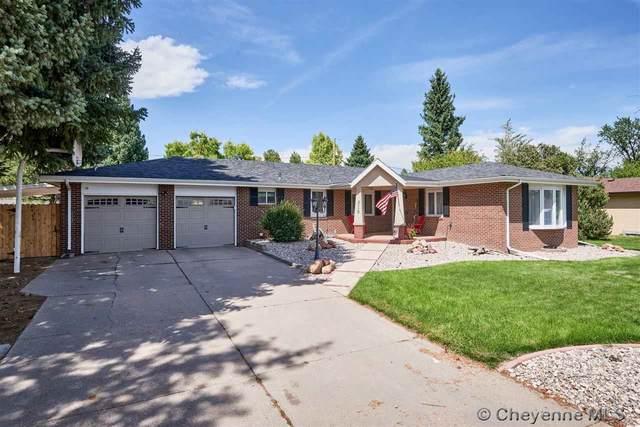 818 Ridgeland St, Cheyenne, WY 82009 (MLS #79587) :: RE/MAX Capitol Properties