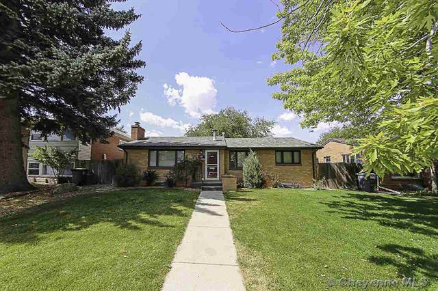 1814 Crook Ave, Cheyenne, WY 82001 (MLS #79771) :: RE/MAX Capitol Properties