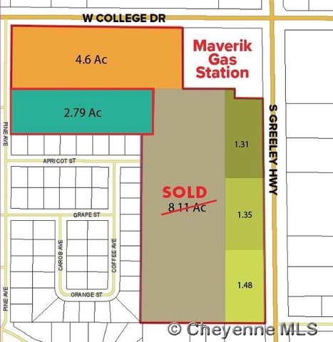 TBD W College Dr, Cheyenne, WY 82007 (MLS #79818) :: RE/MAX Capitol Properties