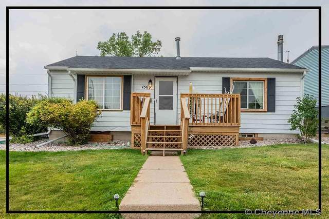1569 Walnut Ave, Cheyenne, WY 82001 (MLS #79862) :: RE/MAX Capitol Properties