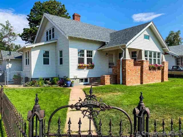 420 W 28TH ST, Cheyenne, WY 82001 (MLS #79881) :: RE/MAX Capitol Properties