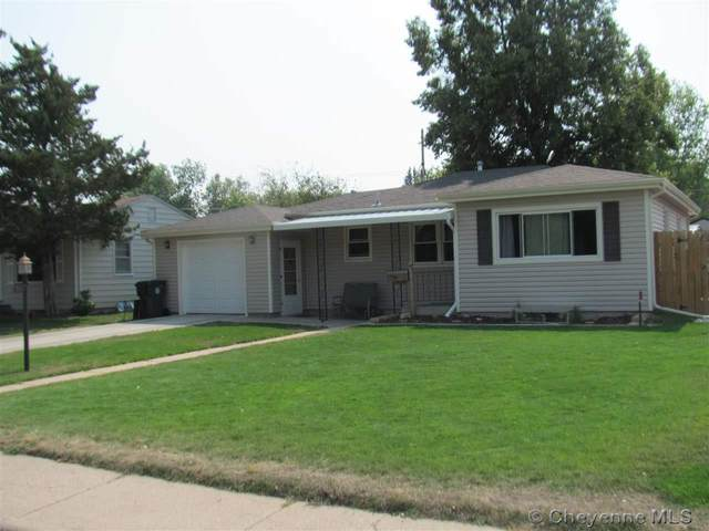1861 Newton Dr, Cheyenne, WY 82001 (MLS #79991) :: RE/MAX Capitol Properties