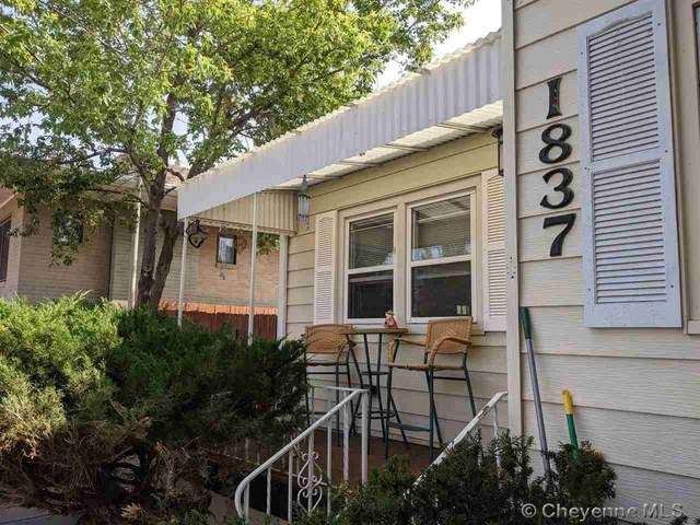 1837 E 18TH ST, Cheyenne, WY 82001 (MLS #80075) :: RE/MAX Capitol Properties