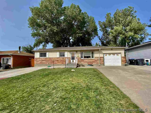 851 Cleveland Ave, Cheyenne, WY 82001 (MLS #80089) :: RE/MAX Capitol Properties