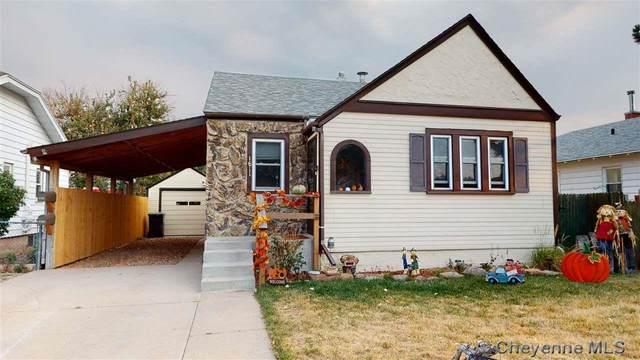 1611 15TH ST, Cheyenne, WY  (MLS #80149) :: RE/MAX Capitol Properties