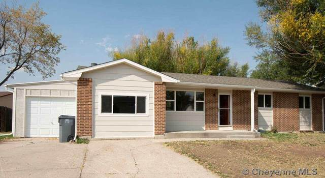 4414 Marble Ave, Cheyenne, WY 82001 (MLS #80162) :: RE/MAX Capitol Properties