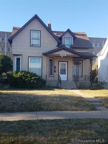 208 E 25TH ST, Cheyenne, WY 82001 (MLS #80252) :: RE/MAX Capitol Properties