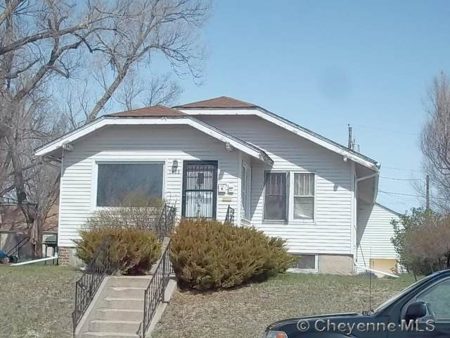 1408 E 18TH ST, Cheyenne, WY 82001 (MLS #80430) :: RE/MAX Capitol Properties
