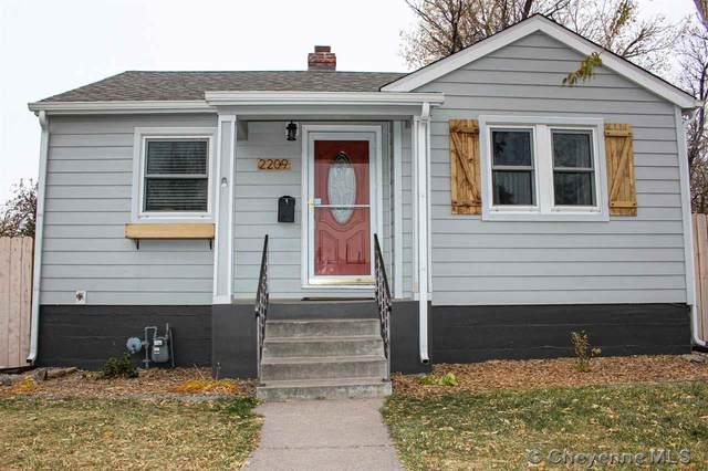 2209 Park Pl, Cheyenne, WY 82001 (MLS #80502) :: RE/MAX Capitol Properties