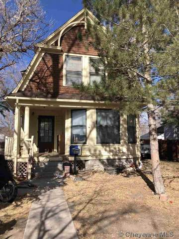1110 E 23RD ST, Cheyenne, WY 82001 (MLS #80706) :: RE/MAX Capitol Properties