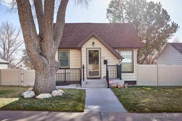 813 W 2ND AVE, Cheyenne, WY 82001 (MLS #80757) :: RE/MAX Capitol Properties