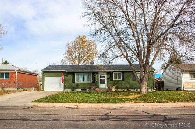 4102 E 7TH ST, Cheyenne, WY 82001 (MLS #80771) :: RE/MAX Capitol Properties