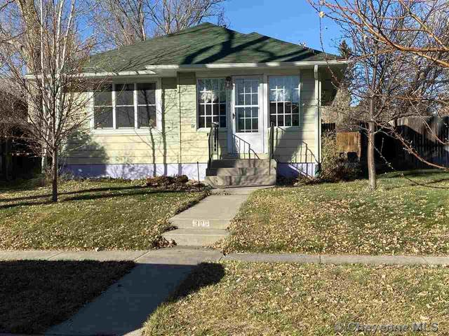 306 E 4TH AVE, Cheyenne, WY 82001 (MLS #80780) :: RE/MAX Capitol Properties