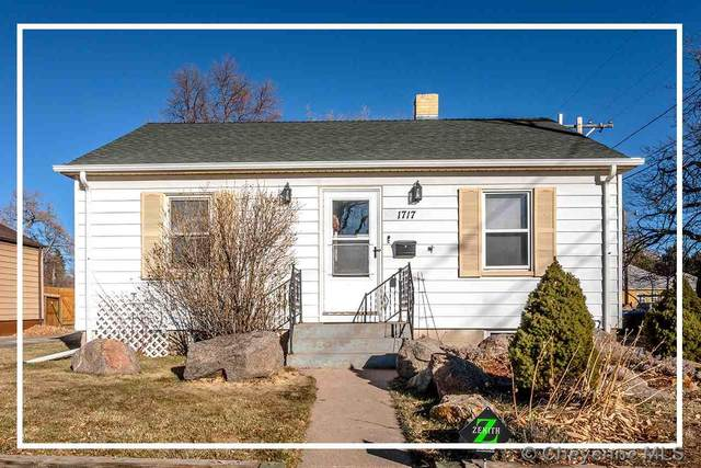 1717 Hugur Ave, Cheyenne, WY  (MLS #80815) :: RE/MAX Capitol Properties