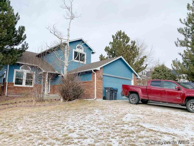 5610 Red Bluff, Cheyenne, WY 82009 (MLS #81045) :: RE/MAX Capitol Properties