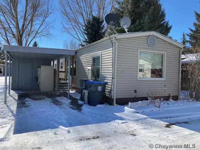3901 Ridge Rd #38, Cheyenne, WY 82009 (MLS #81345) :: RE/MAX Capitol Properties