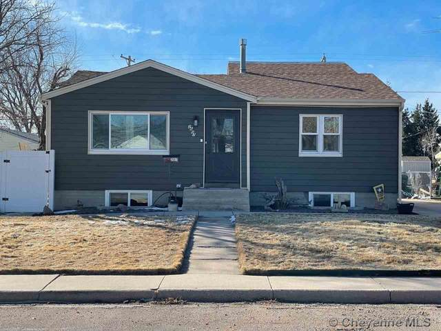 2607 E 11TH ST, Cheyenne, WY 82001 (MLS #81433) :: RE/MAX Capitol Properties