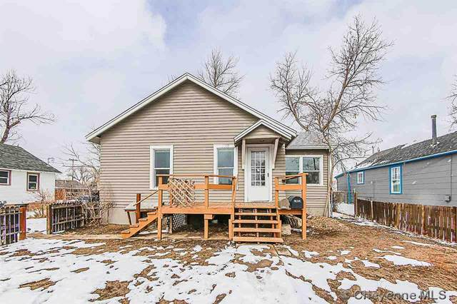 2310 E 10TH ST, Cheyenne, WY 82001 (MLS #81785) :: RE/MAX Capitol Properties